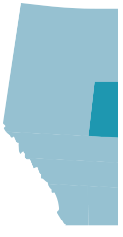 Map of Lloydminster and Area